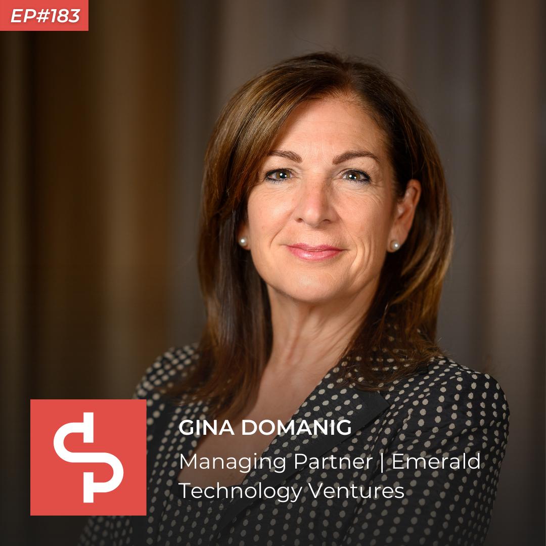 Gina Domanig, managing partner Emerald Technology Ventures, Swisspreneur Podcast