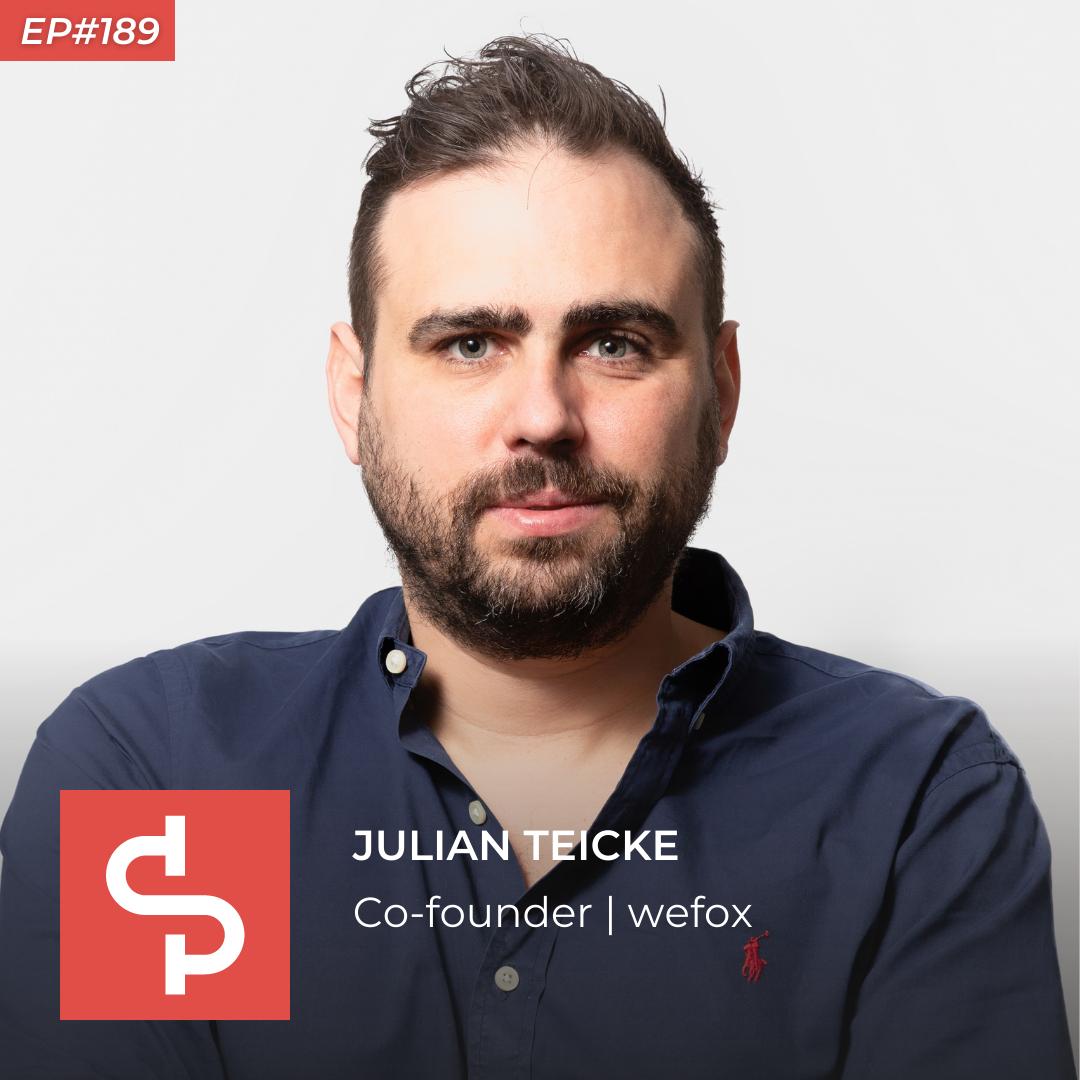 Julian Teicke, co-founder wefox, Swisspreneur Podcast
