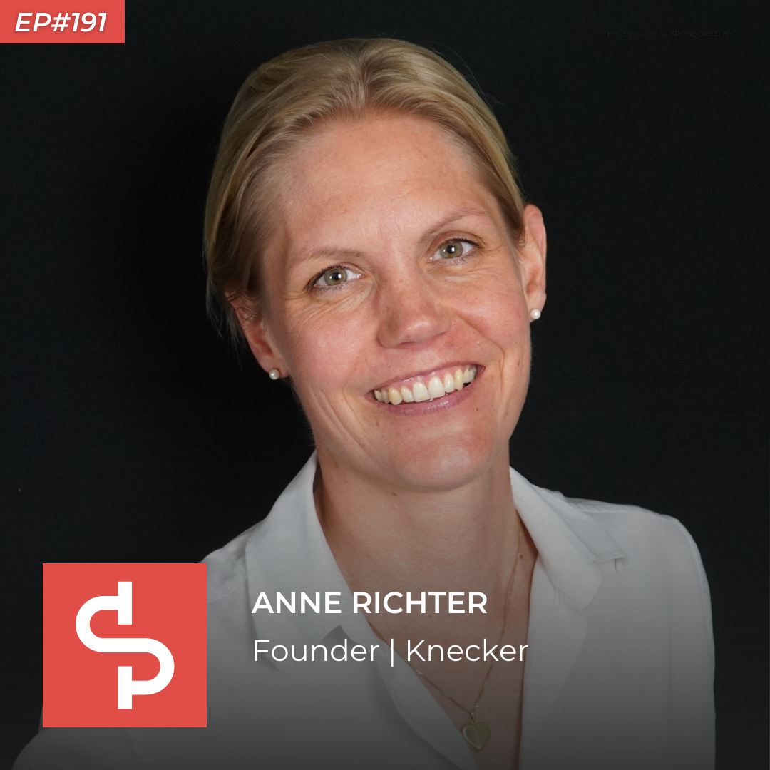 Anne Richter, founder Knecker, Swisspreneur Podcast