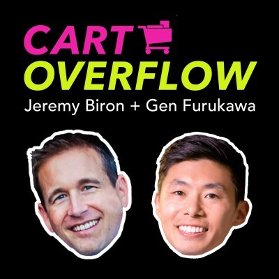 Cart Overflow Ecommerce Marketing Podcast- eCommerce Podcasts 2021