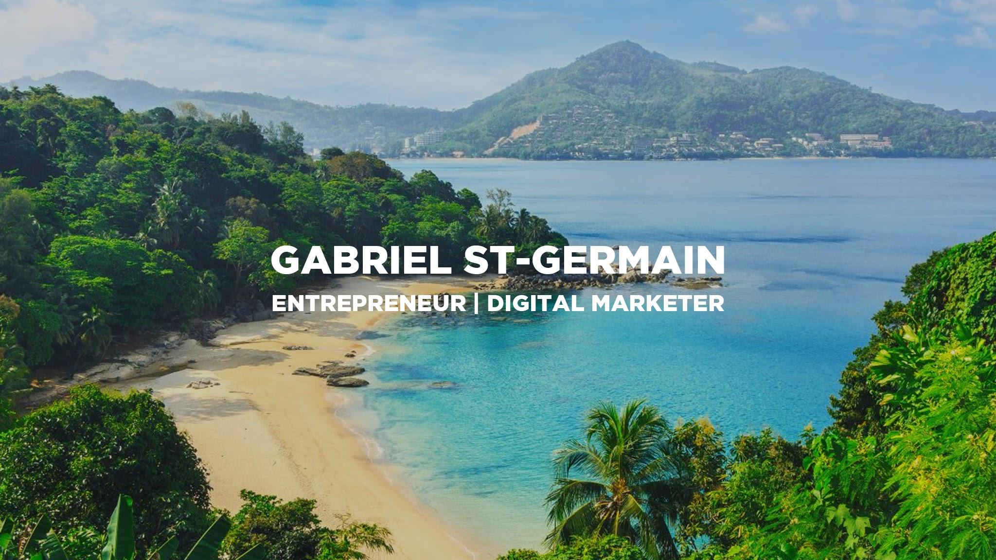 Gabriel St. Germain- eCommerce Youtube Channels 2021