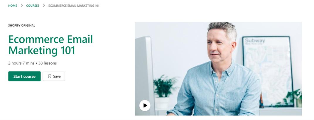 eCommerce Email Marketing - eCommerce Courses 2021