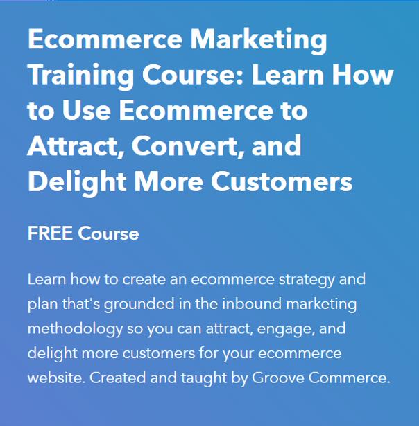 Ecommerce Marketing- eCommerce Courses 2021