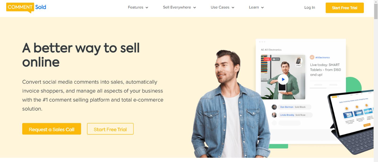 Facebook Live Sale- CommentSold | Upraft