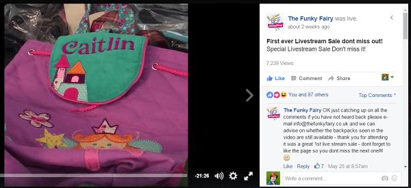 Funky Fair FB live Sale | Upraft