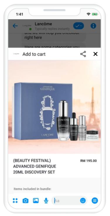 L'Oreal Facebook Live Sale | Upraft