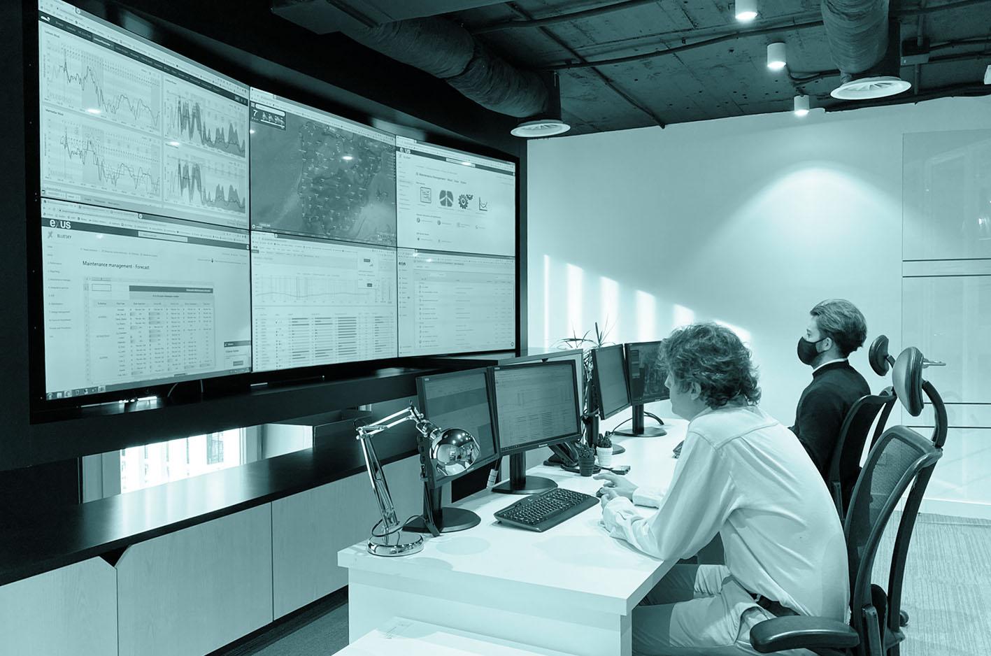 The Exus' control room.
