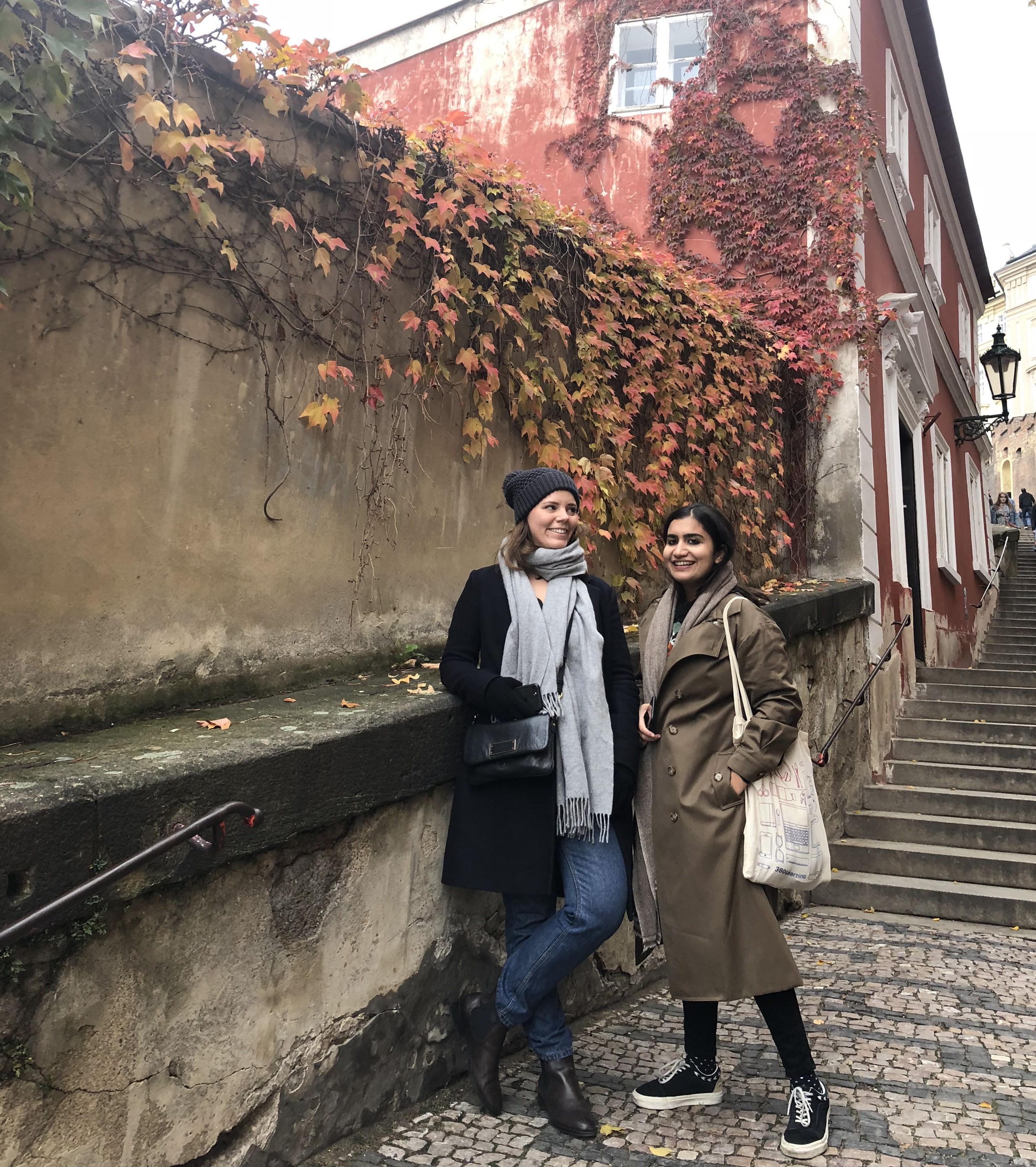 Team Photo in Prague.