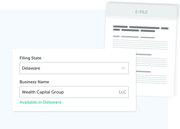 Fill an LLC in any U.S. state