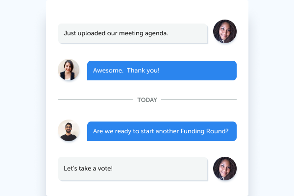 Real-time messaging and collaboration