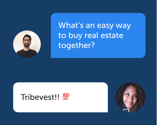 Instant message friends on Tribevest