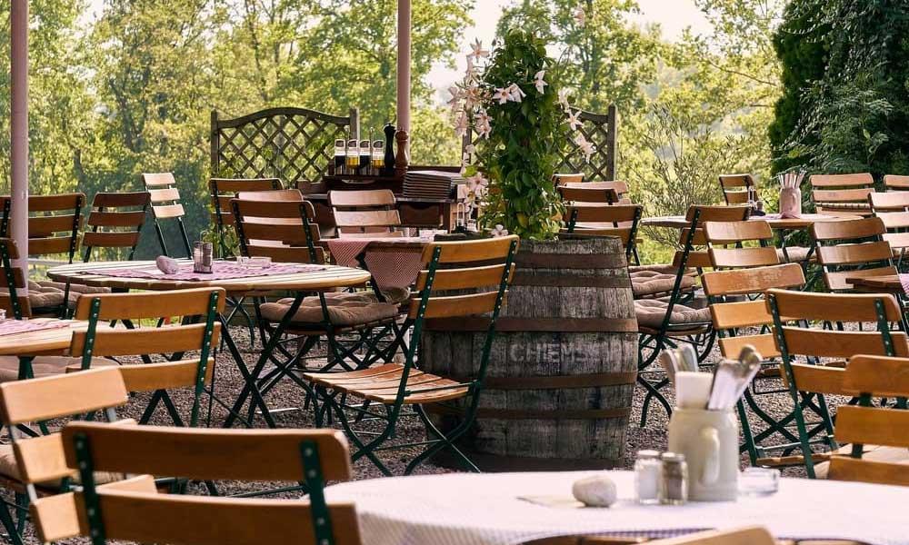 terrasse de restaurant