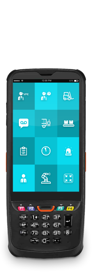"""MDE scanner with ReAct """"Call to action"""" app for industrial use.ustrial use."""