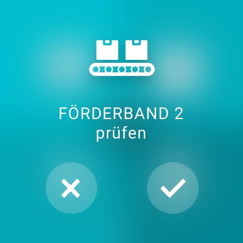 Förderband prüfen - ReAct Watch User Interface Industry