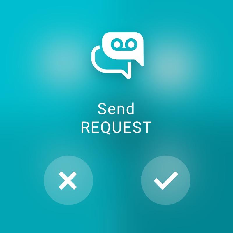Send request - ReAct Watch User Interface Retail