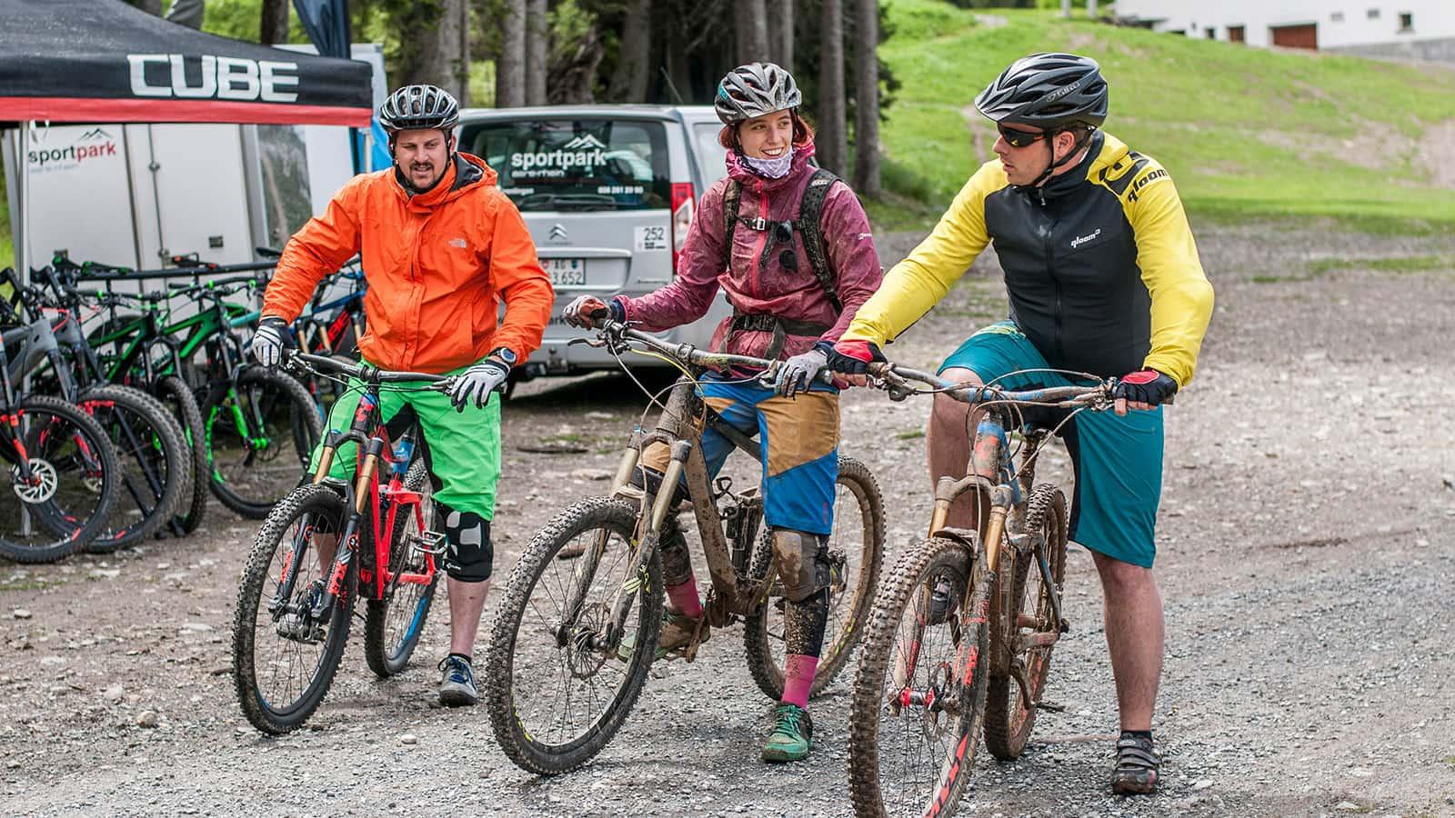 Sportpark Aare-Rhein Vermietung Bikes