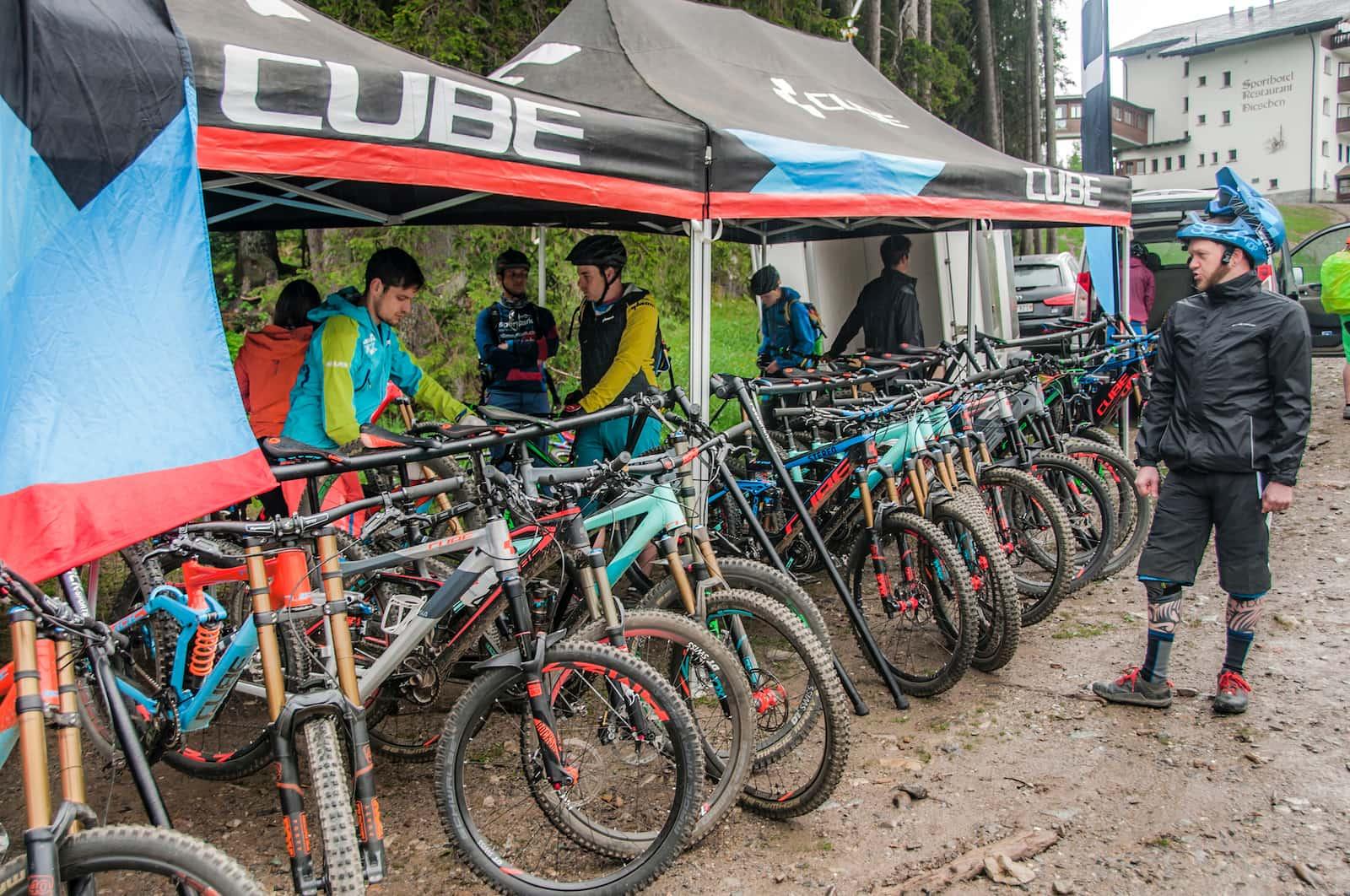 Sportpark Aare-Rhein Bikes Cube