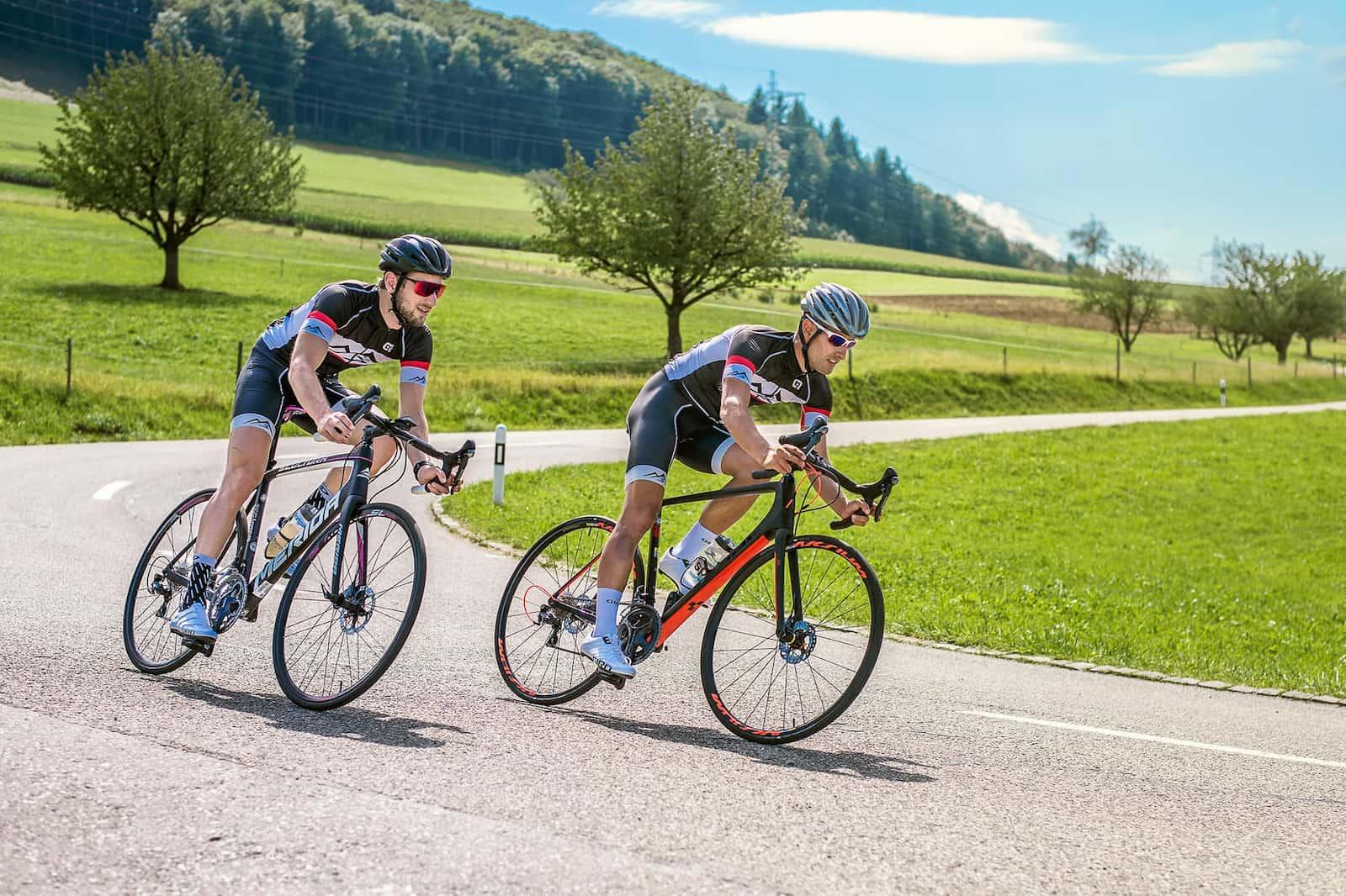 Sportpark Aare-Rhein Rennrad Kurve