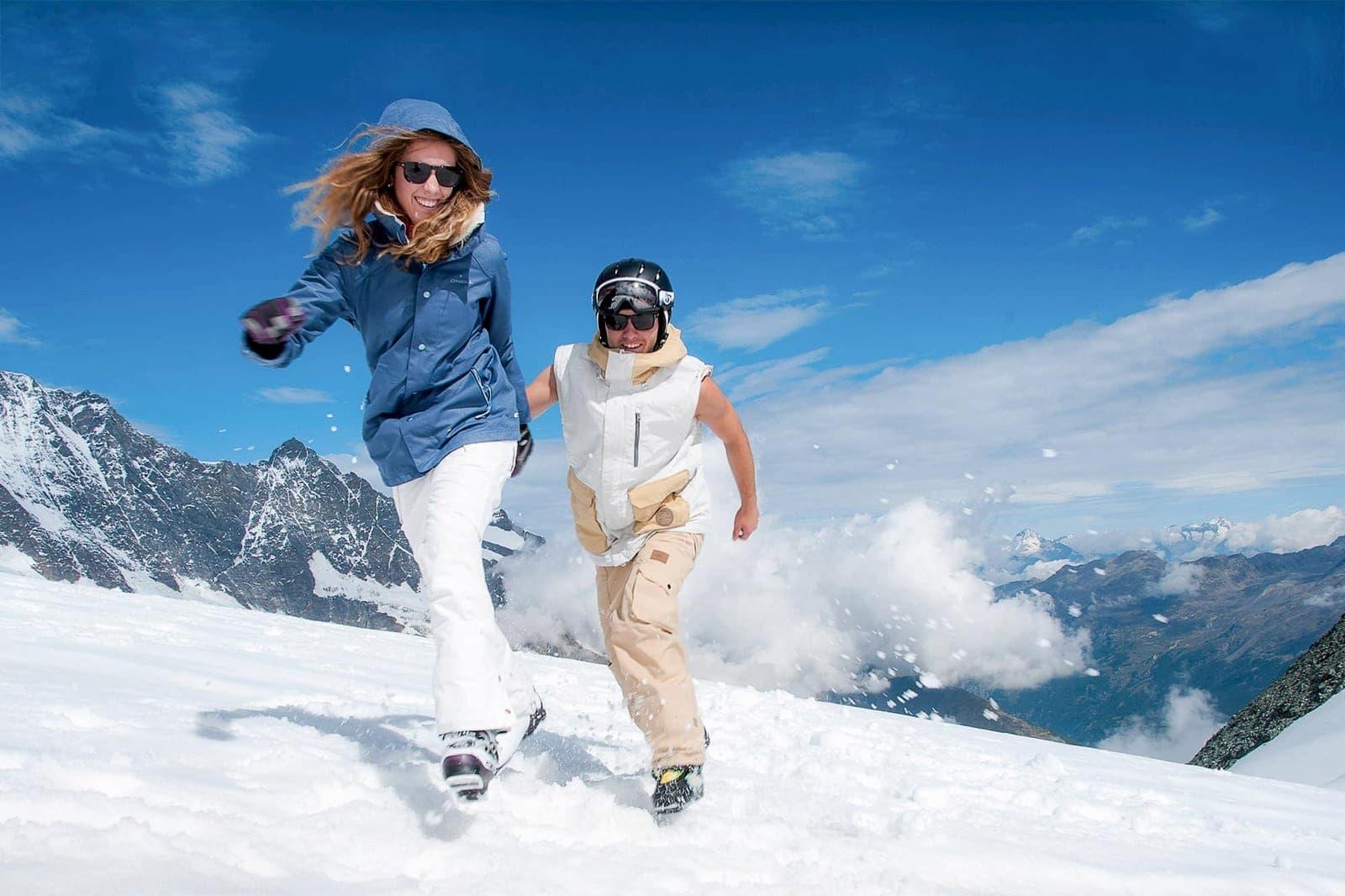 Sportpark Aare-Rhein Wintersport Schnee