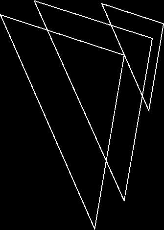Viral Music White Logo Silhouette