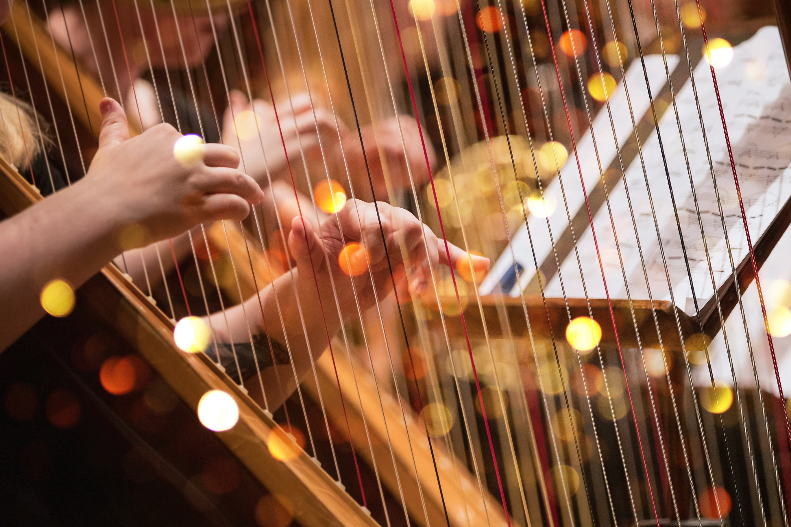 Orchestral Harp Live Recording