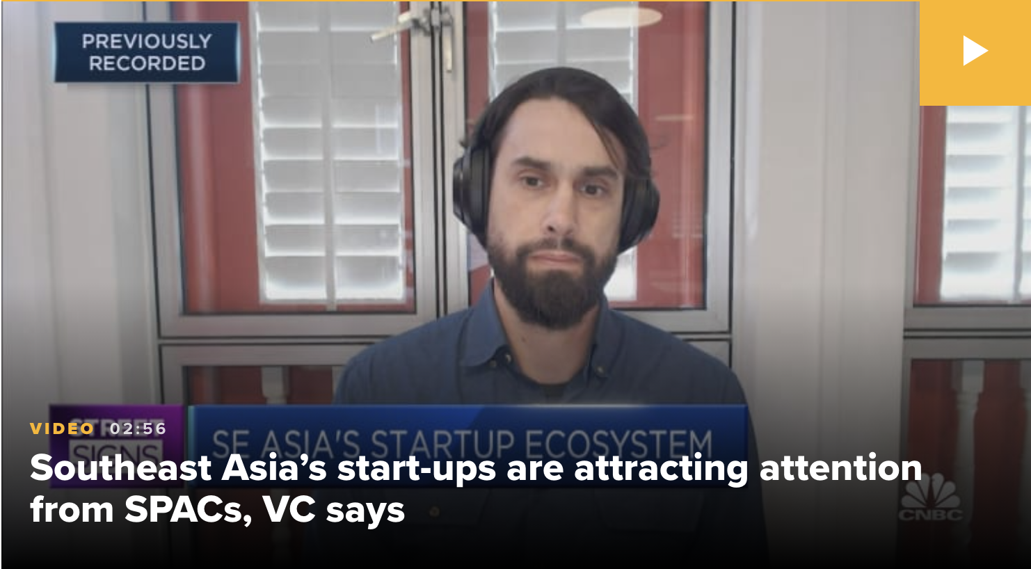 Southeast Asia start-ups are attracting the attention of blank check companies: Golden Gate Ventures