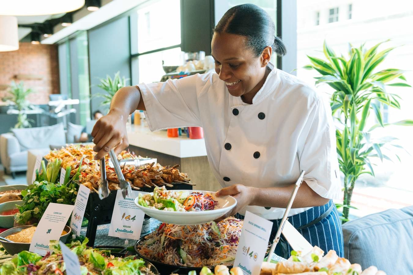 Planet Mark member Footitude catering company