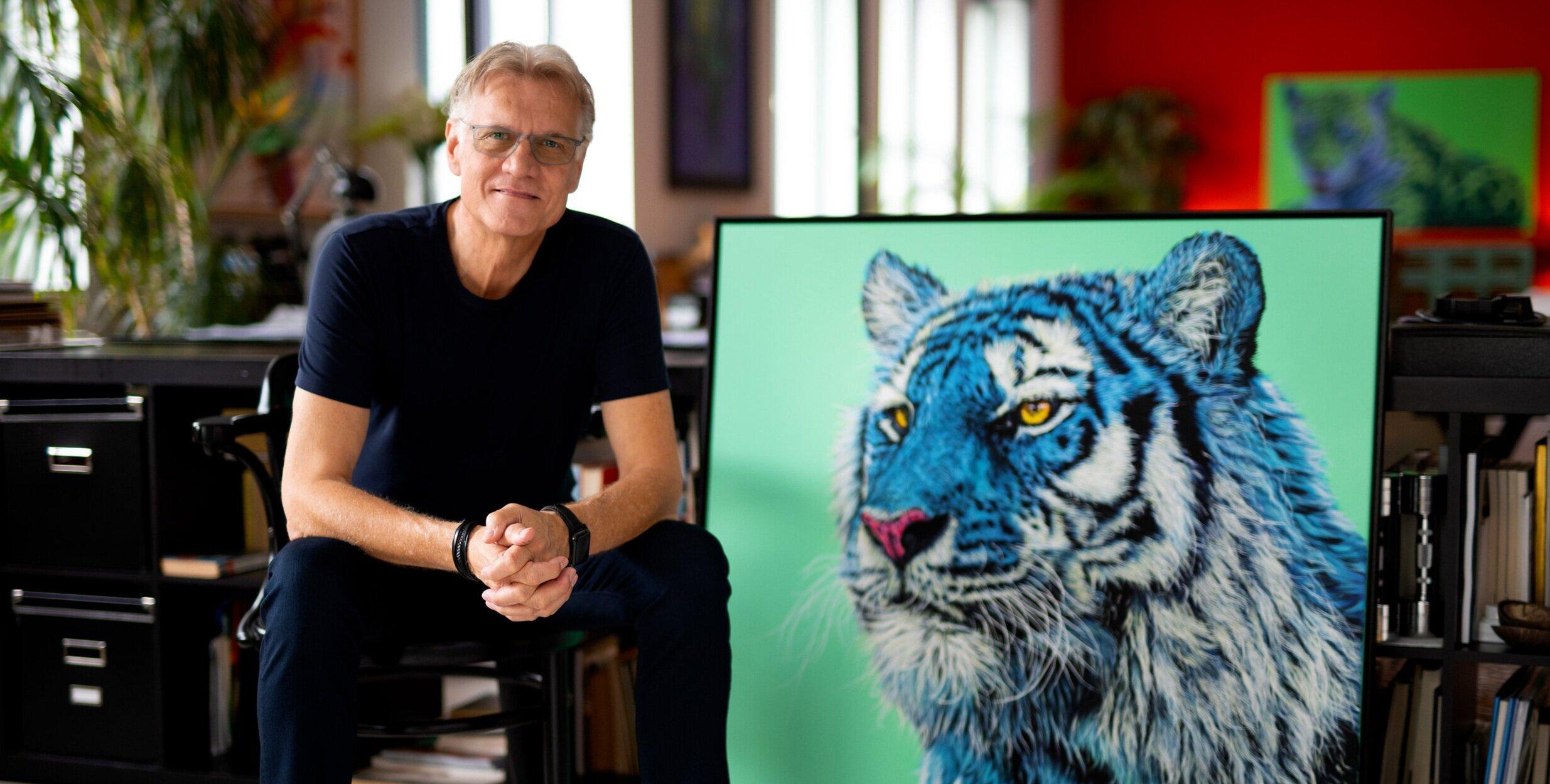 Artist Helmut Koller