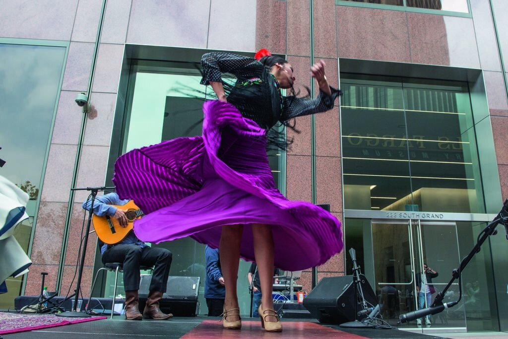 Outdoor concert series City Beats curated by local radio personality Anthony Valadez, featuring global DJ crew and live band Subsuelo at Wells Fargo Center