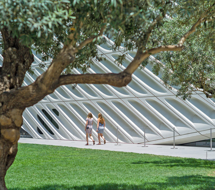 The Broad contemporary art museum