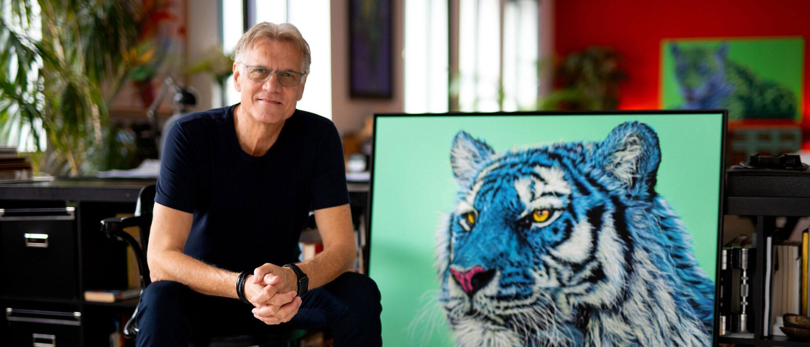 Underground Art Series featured artist Helmut Koller