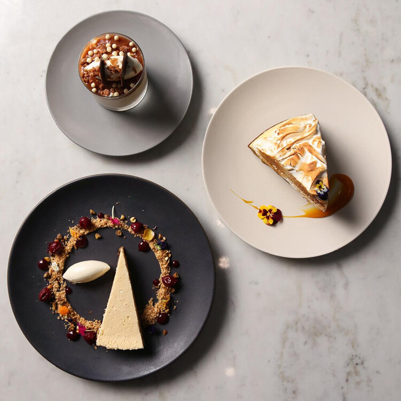 Desserts at Nick + Stef's
