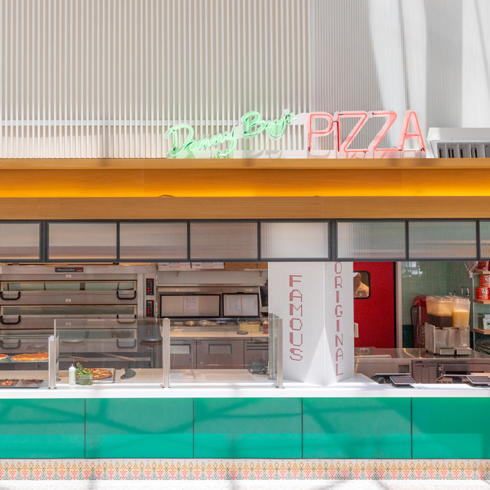 Counter service neighborhood pizzeria