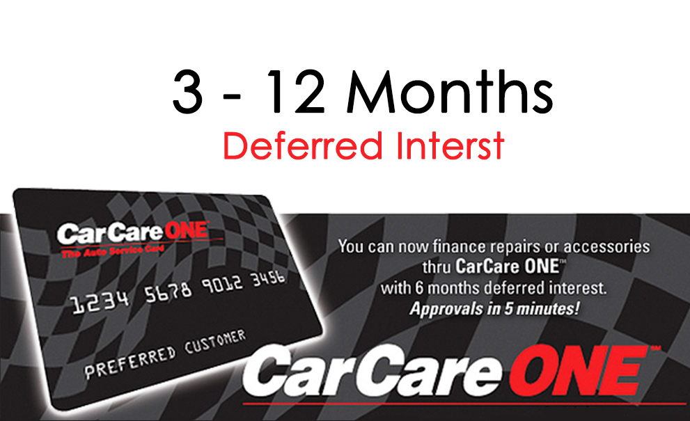Car Care One Financing Image