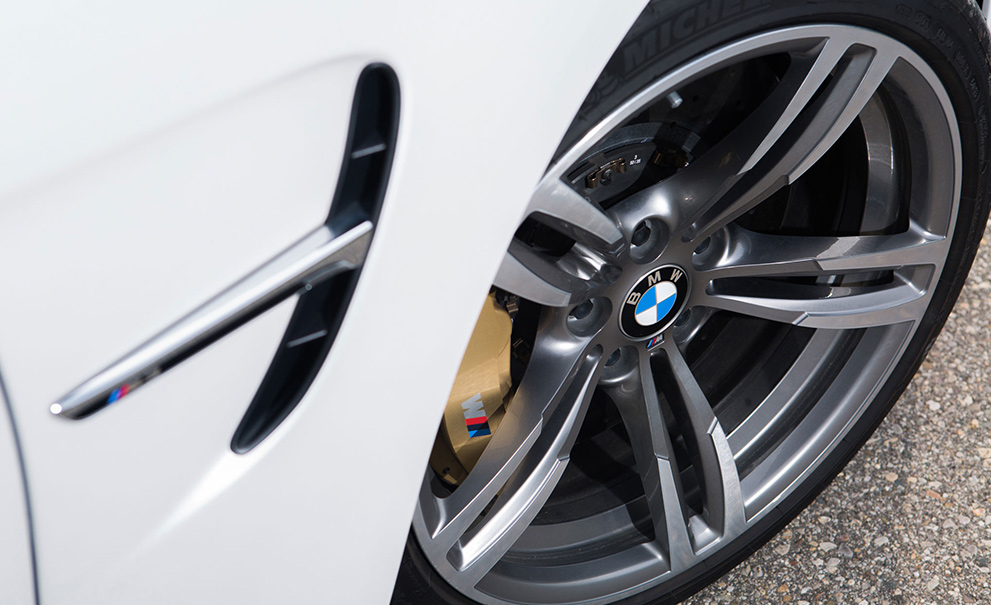 image of a BMW wheel