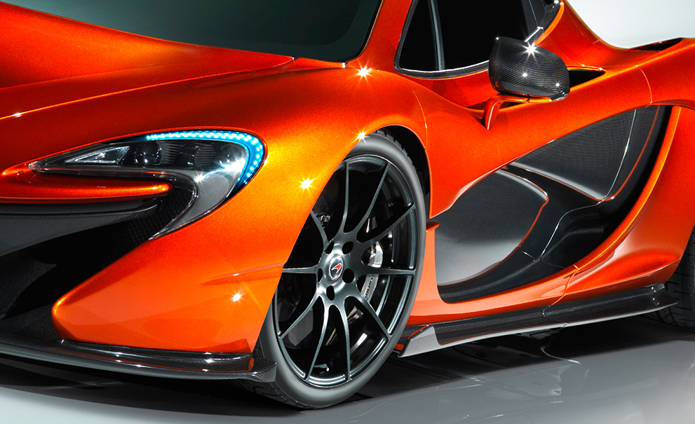 Cool orange car