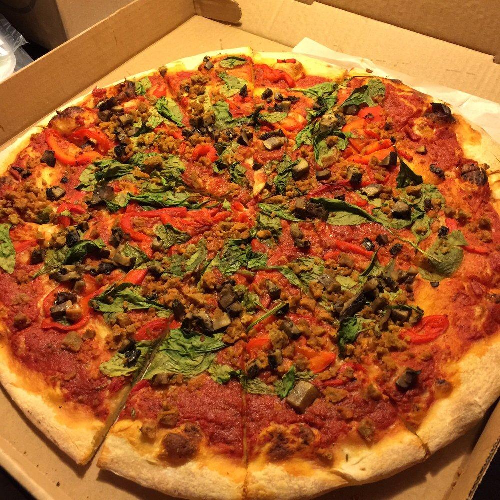 vegan pizza pie