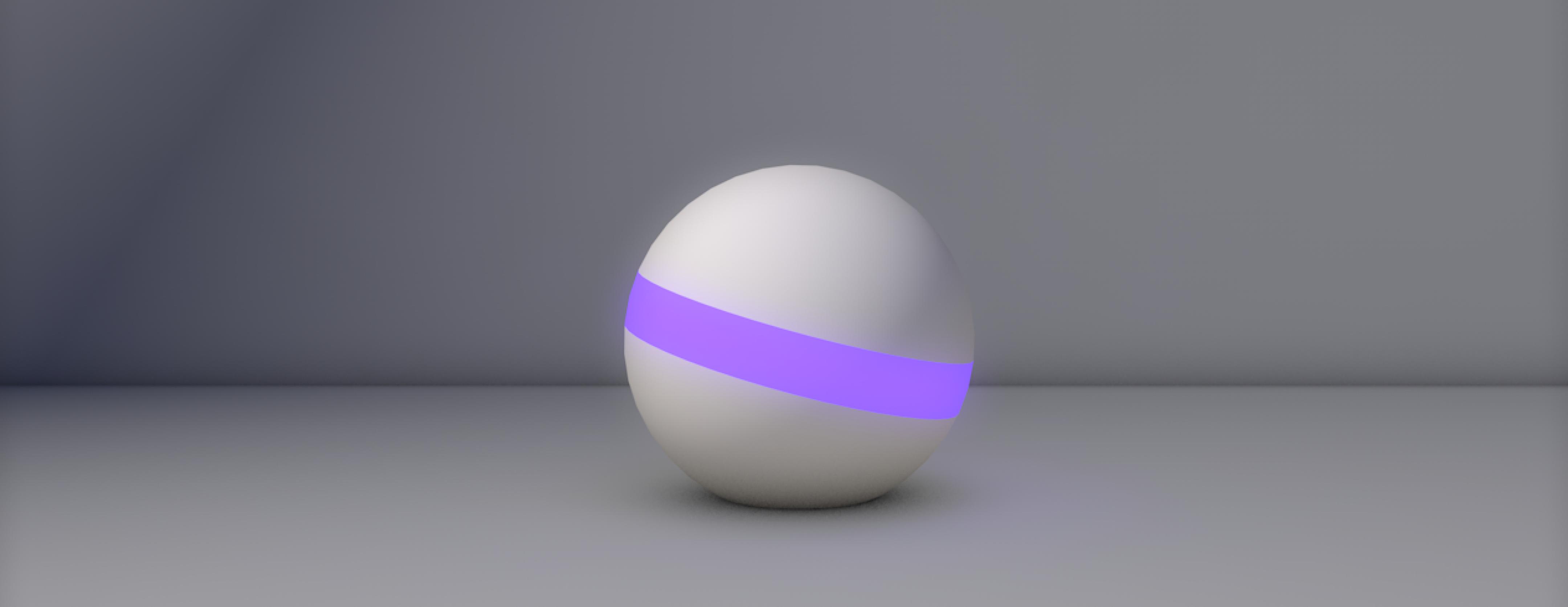 3D rendering of the Oobi device