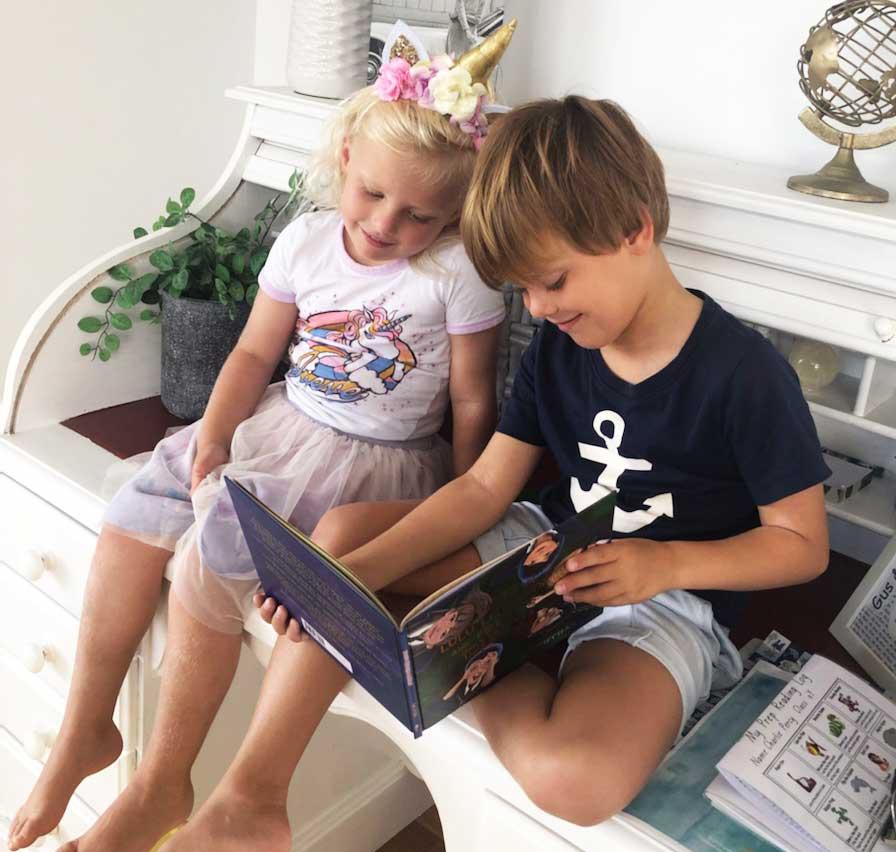 Kozzi Kids reading