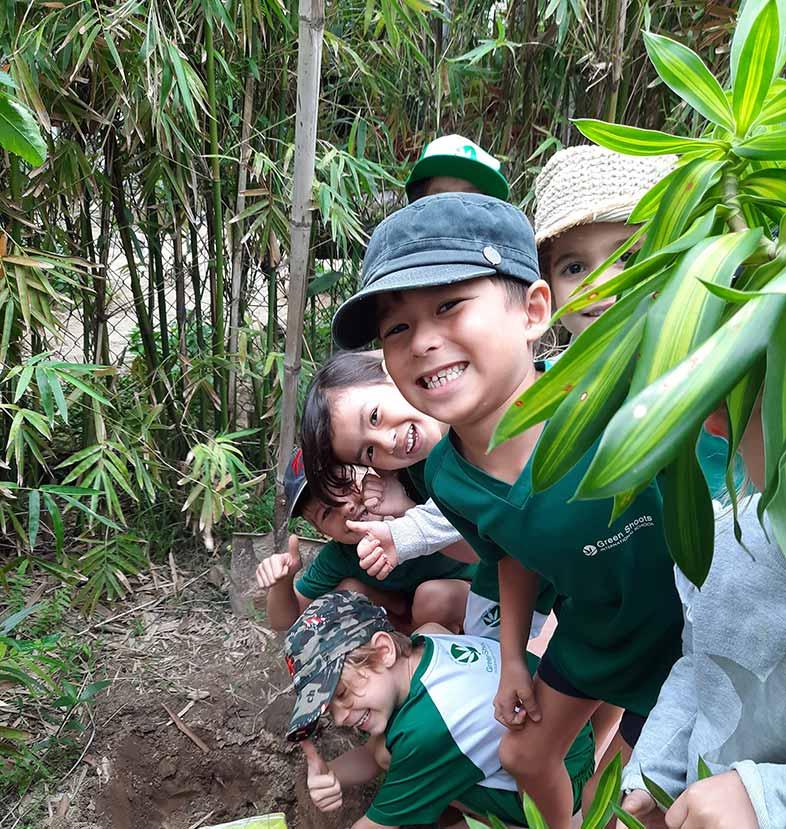Green shoots international school Hoi An Vietnam.