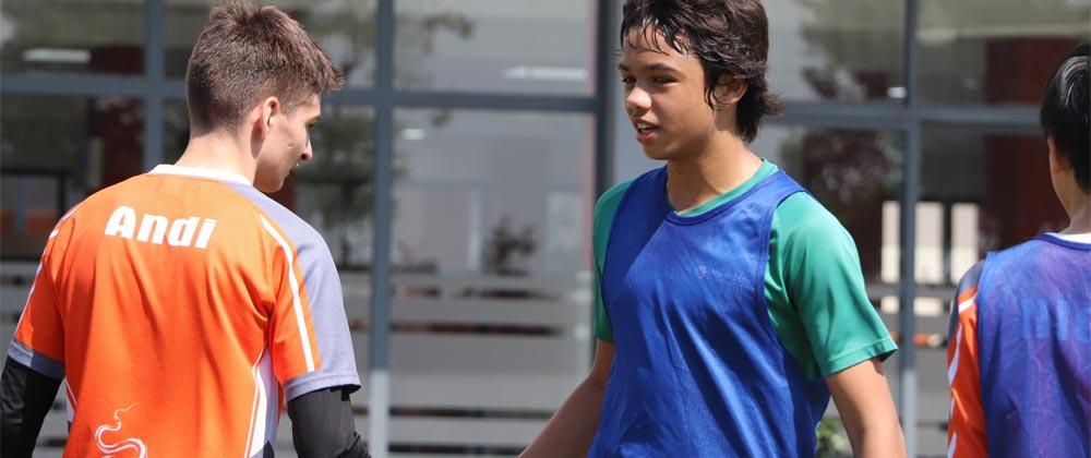 Secondary Sport at Green shoots international Hoi An Vietnam.