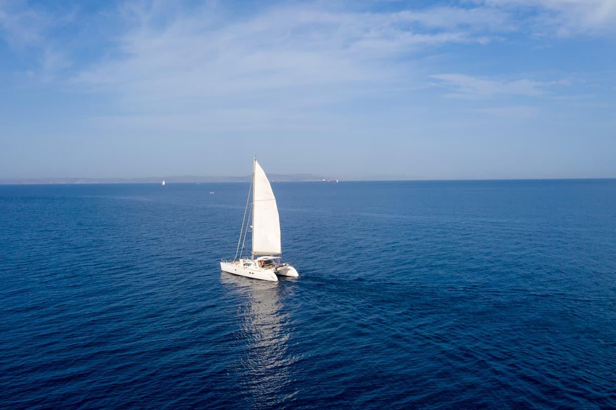 come condurre un catamarano