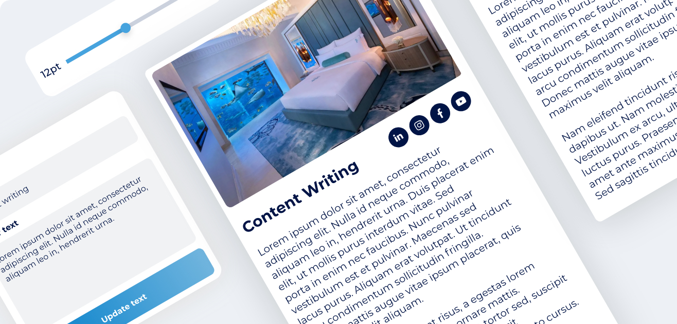 Digital of Things - content writing