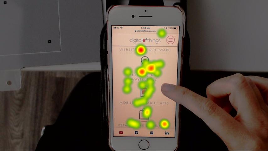 Digital of Things - eye tracking