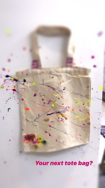 splat paint house totes