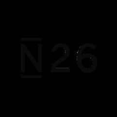 Das Logo der Firma N26, welche unsere Telefonzellen/Telefonkabinen/Telefonboxen/Raum In Raum Systeme/Meetingboxen in ihrem Büro nutzt.