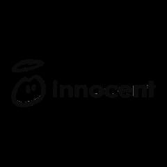Das Logo der Firma innocent, welche unsere Telefonzellen/Telefonkabinen/Telefonboxen/Raum In Raum Systeme/Meetingboxen in ihrem Büro nutzt.