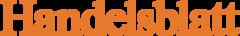 Das Logo der Wirtschaftszeitung Handelsblatt, die über unsere Telefonbox für Büros schreibt.