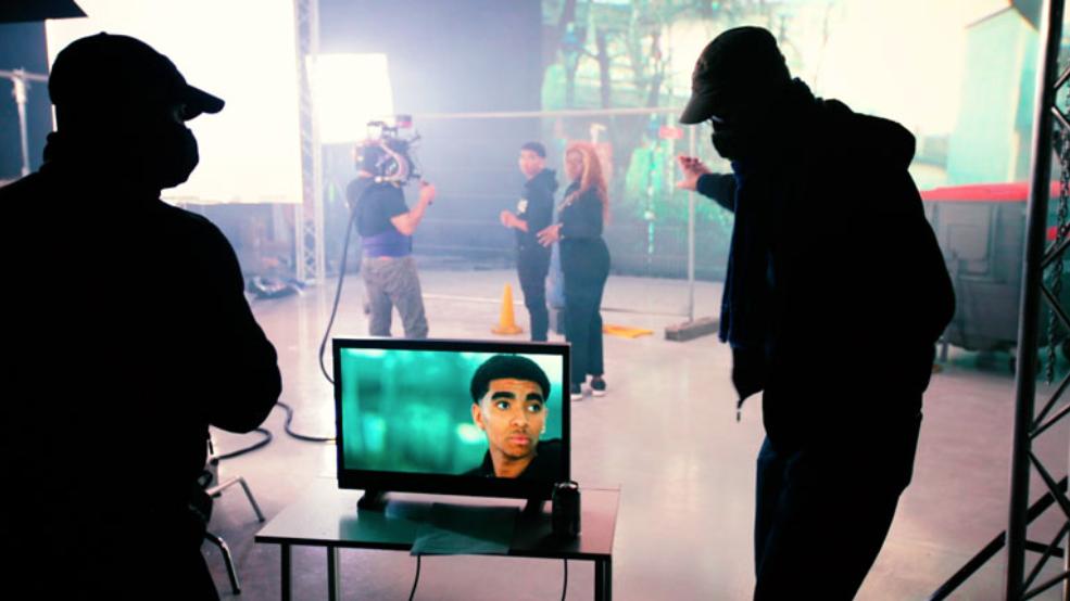 Virtual Production Set
