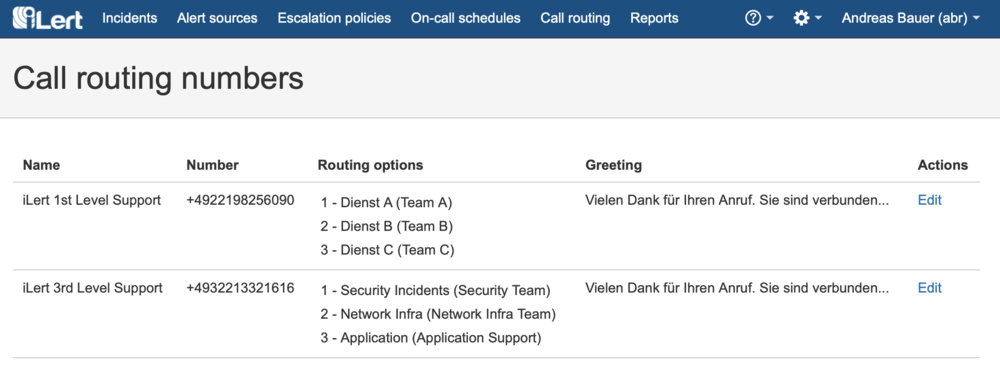 iLert Call Routing: Now Accepting Beta Testers